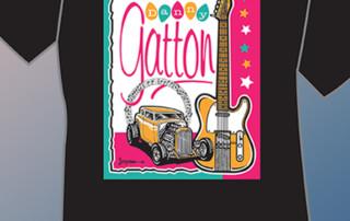 Danny Gatton 1st Tribute T-Shirt by Ronnie Joyner