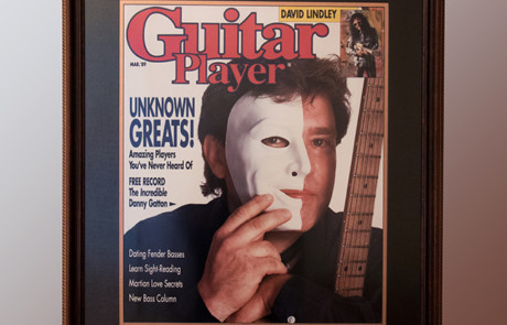 Artist Proof of 1989 Guitar Player Magazine Cover