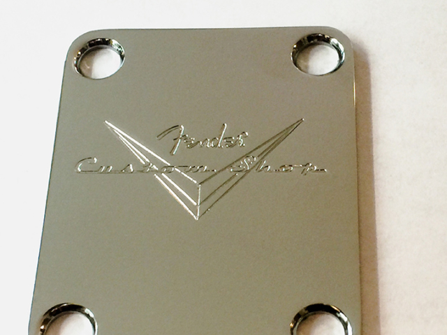 Fender Custom Shop Serial Plate