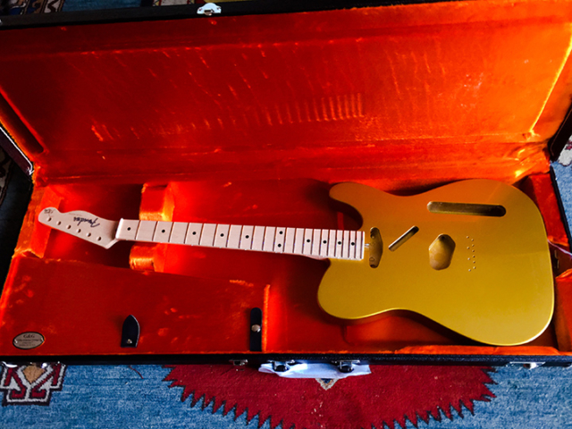 Danny Gatton Signature Telecaster body and neck contributed by Fender